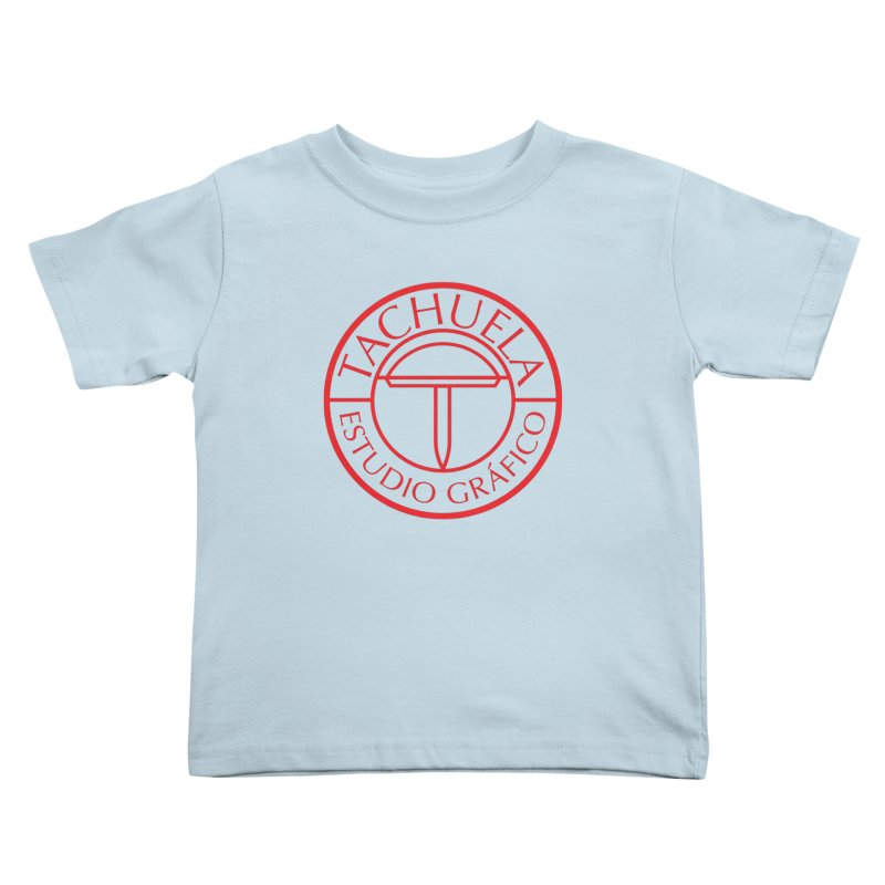 Tachuela Red Kids Toddler T-Shirt by Tachuela's Shop