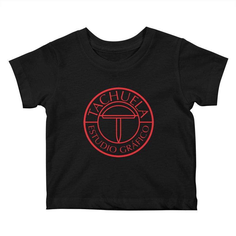Tachuela Red Kids Baby T-Shirt by Tachuela's Shop