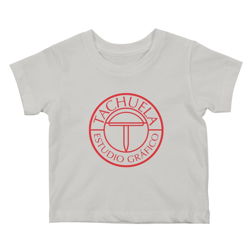 Tachuela Red Kids Baby T-Shirt by Tachuela's Shop