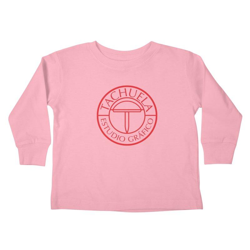 Tachuela Red Kids Toddler Longsleeve T-Shirt by Tachuela's Shop