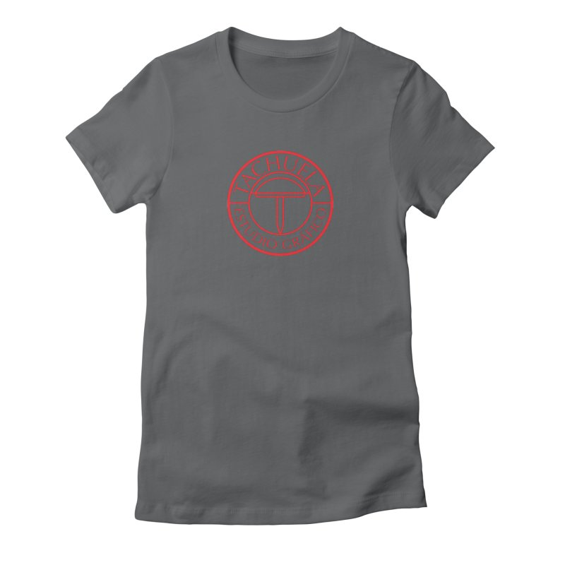 Tachuela Red Women's Fitted T-Shirt by Tachuela's Shop