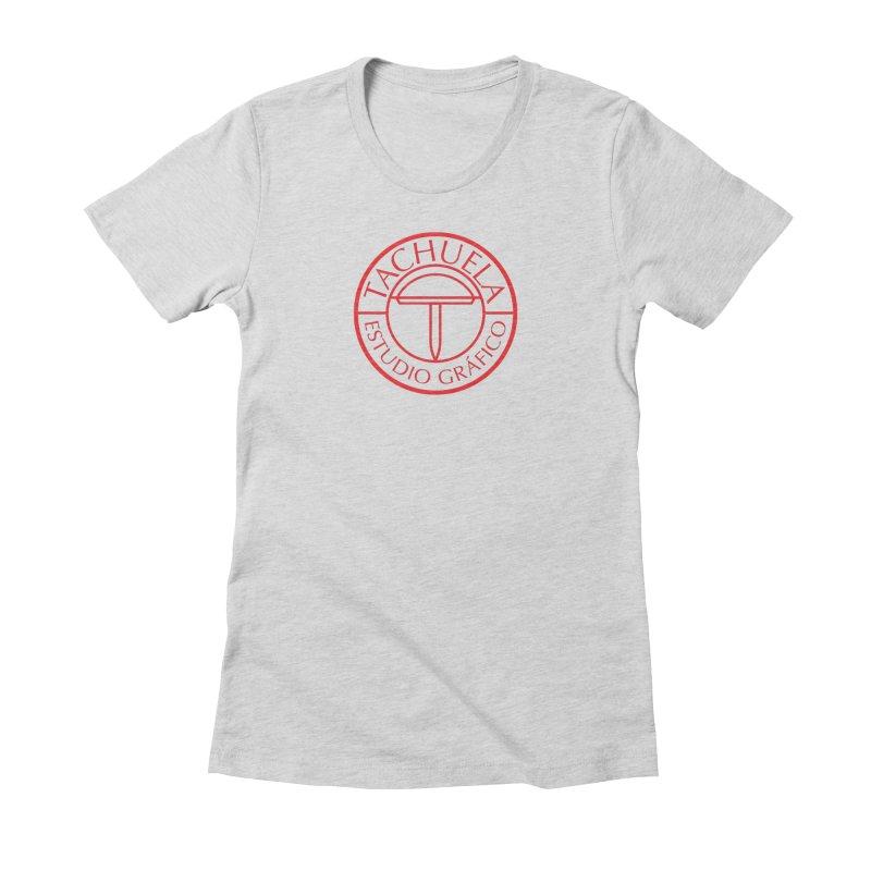 Tachuela Red Women's Fitted T-Shirt by Tachuela's Shop
