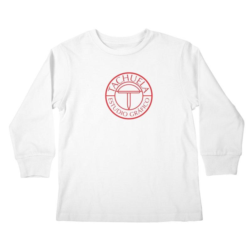 Tachuela Red Kids Longsleeve T-Shirt by Tachuela's Shop