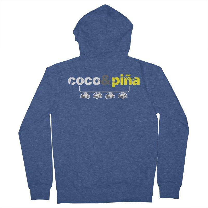 Coco&piña Men's Zip-Up Hoody by Tachuela's Shop