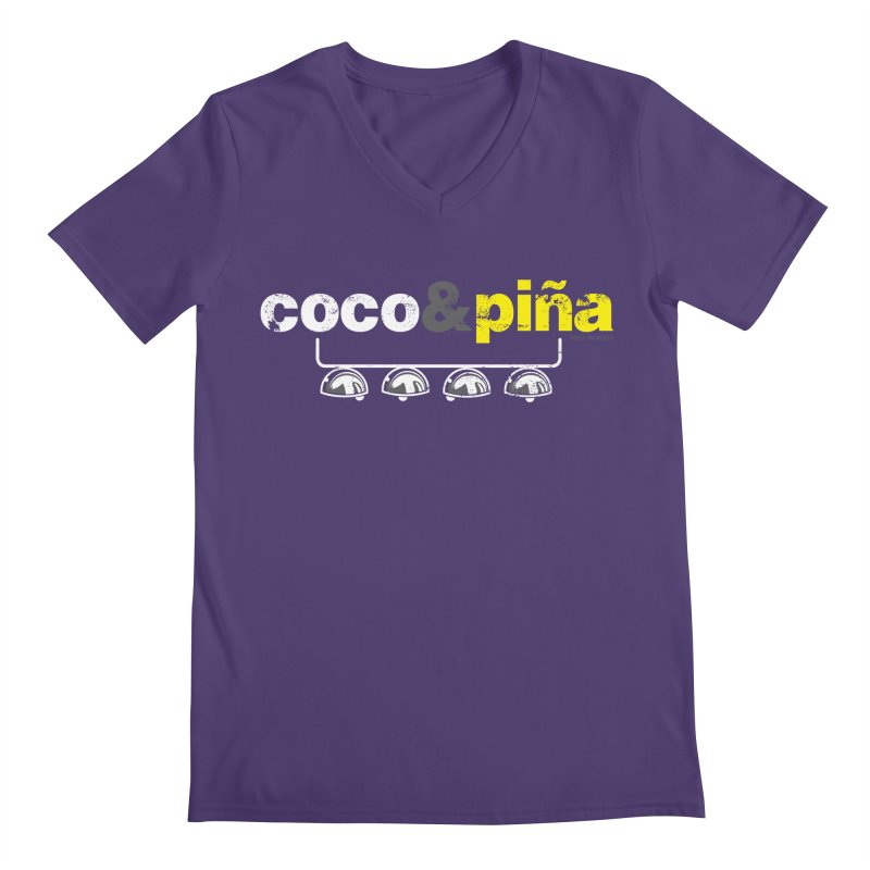 Coco&piña Men's V-Neck by Tachuela's Shop