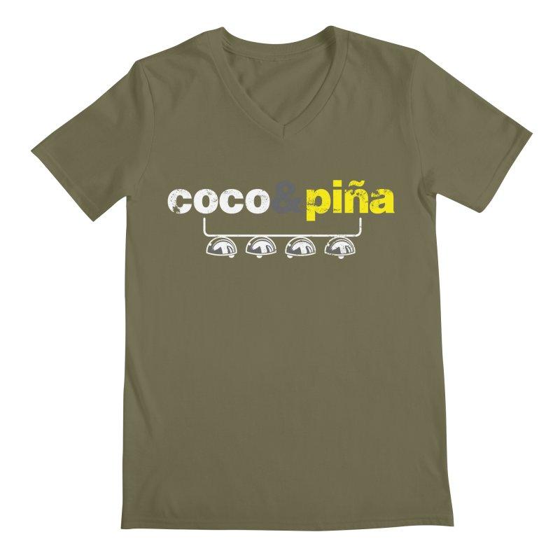 Coco&piña Men's V-Neck by Tachuela's Shop