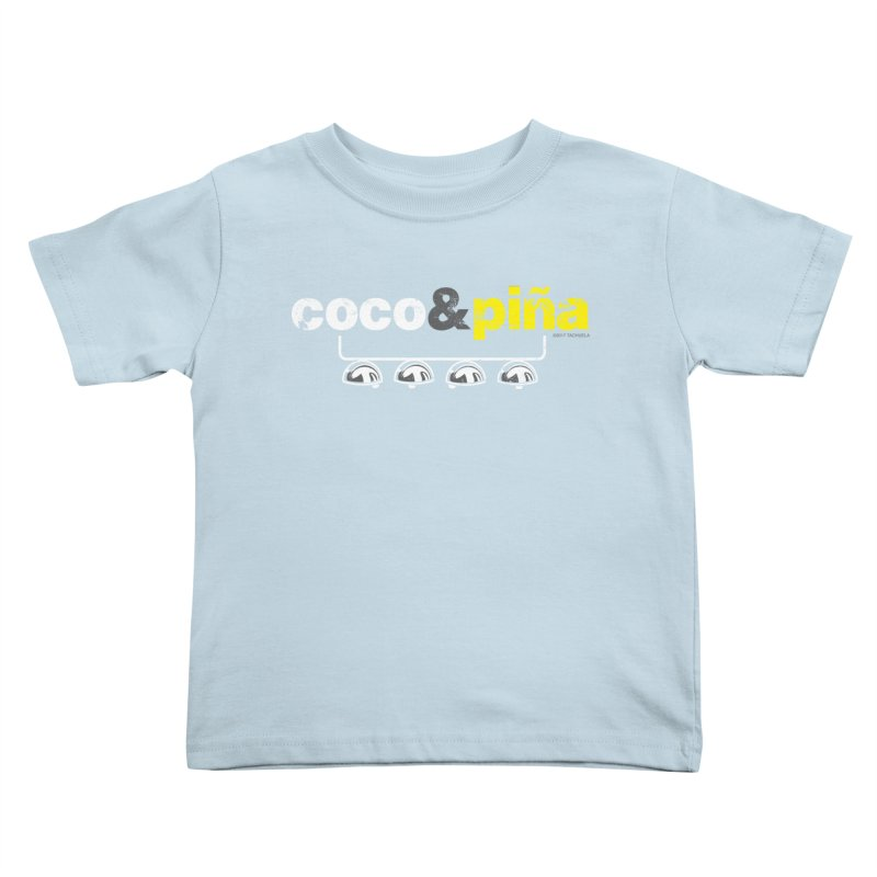 Coco&piña Kids Toddler T-Shirt by Tachuela's Shop