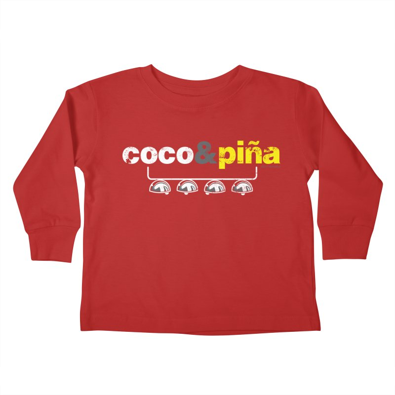 Coco&piña Kids Toddler Longsleeve T-Shirt by Tachuela's Shop