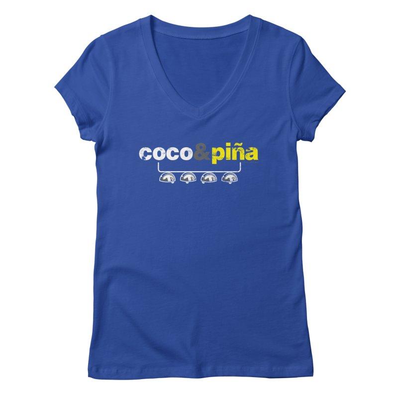Coco&piña Women's V-Neck by Tachuela's Shop
