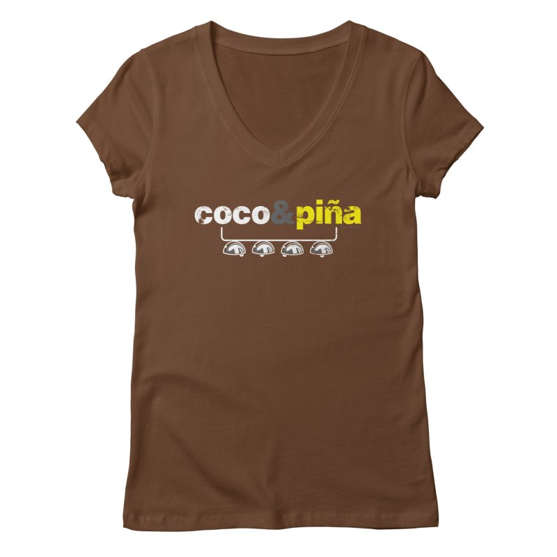 Coco&piña Women's V-Neck by Tachuela's Shop