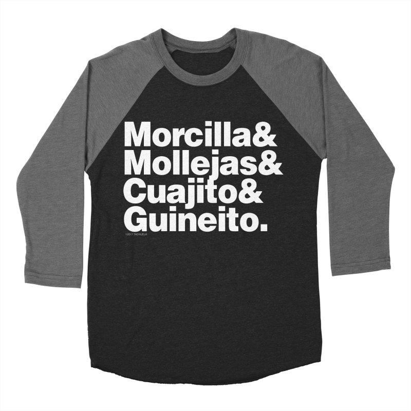 Cuchifrito Women's Baseball Triblend T-Shirt by Tachuela's Shop
