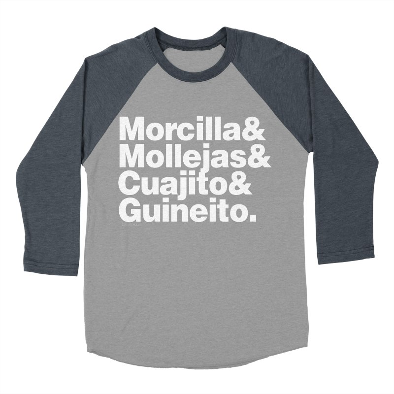 Cuchifrito Women's Baseball Triblend T-Shirt by Tachuela's Shop