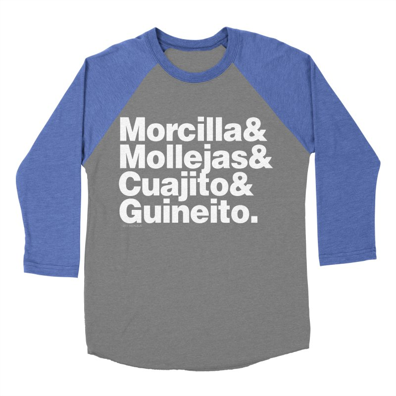 Cuchifrito Men's Baseball Triblend T-Shirt by Tachuela's Shop