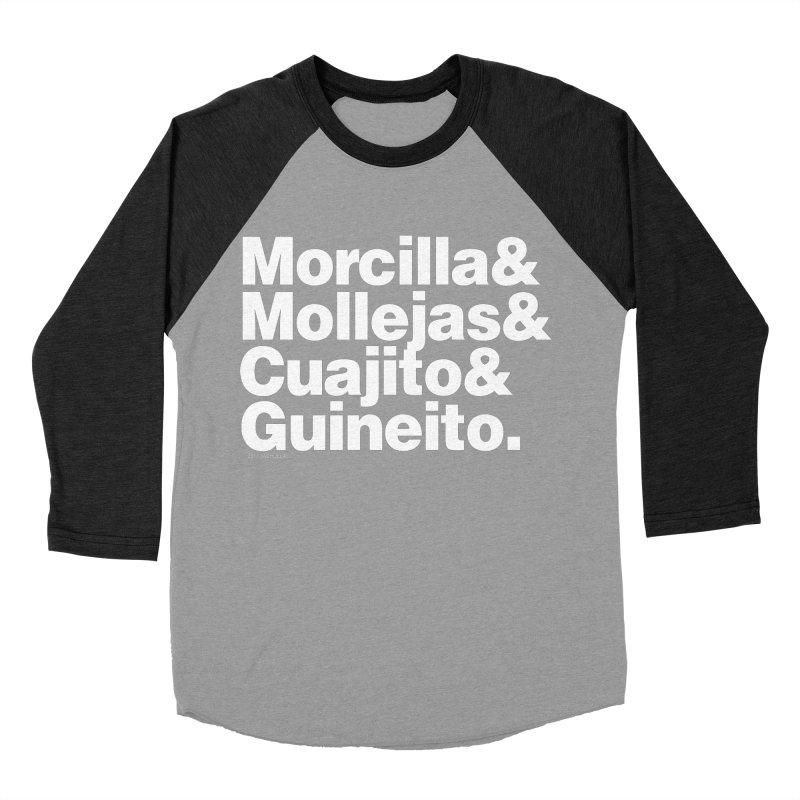 Cuchifrito Men's Baseball Triblend T-Shirt by Tachuela's Shop