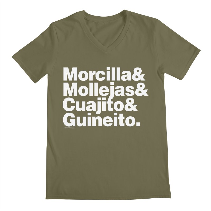 Cuchifrito Men's V-Neck by Tachuela's Shop