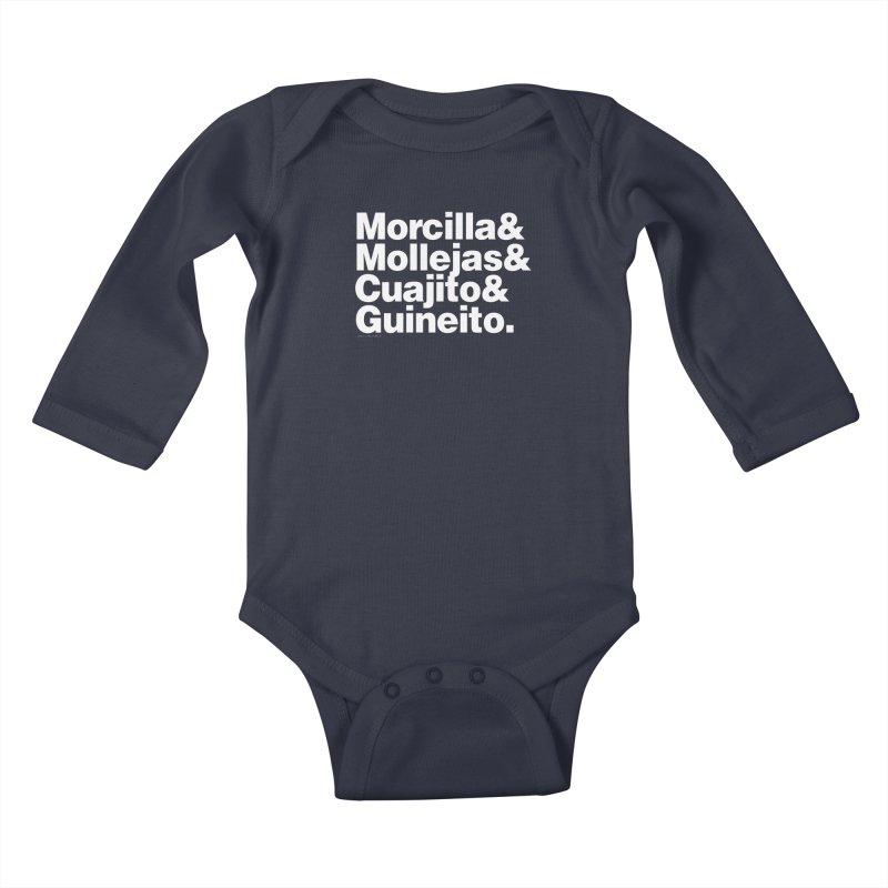 Cuchifrito Kids Baby Longsleeve Bodysuit by Tachuela's Shop