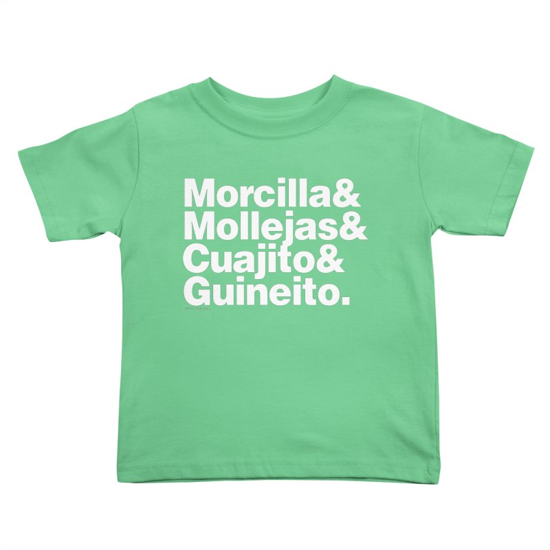 Cuchifrito Kids Toddler T-Shirt by Tachuela's Shop