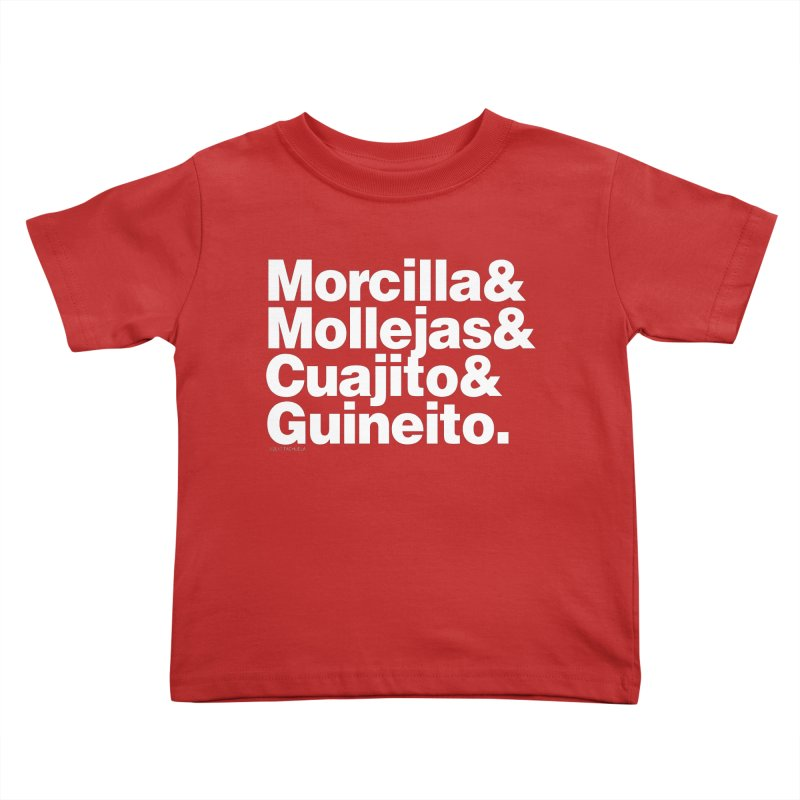 Cuchifrito Kids Toddler T-Shirt by Tachuela's Shop