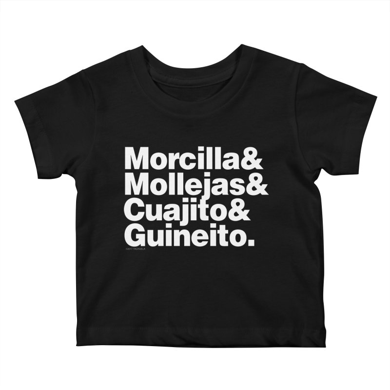 Cuchifrito Kids Baby T-Shirt by Tachuela's Shop