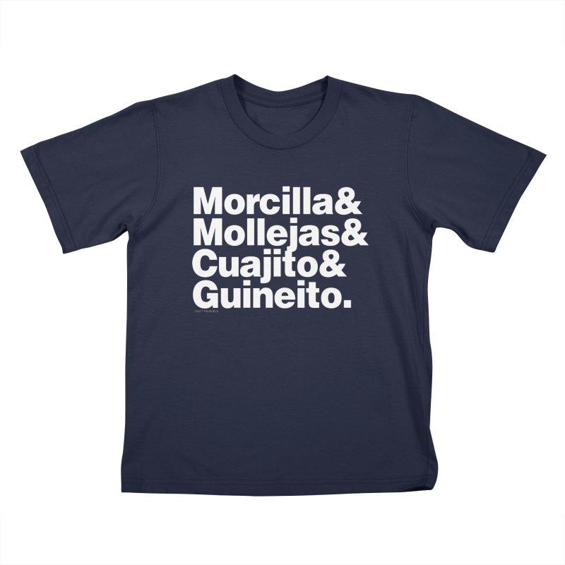 Cuchifrito Kids T-Shirt by Tachuela's Shop
