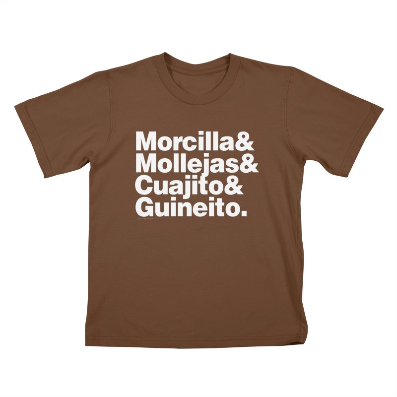 Cuchifrito Kids T-shirt by Tachuela's Shop