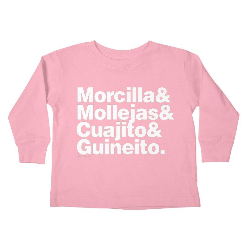 Cuchifrito Kids Toddler Longsleeve T-Shirt by Tachuela's Shop