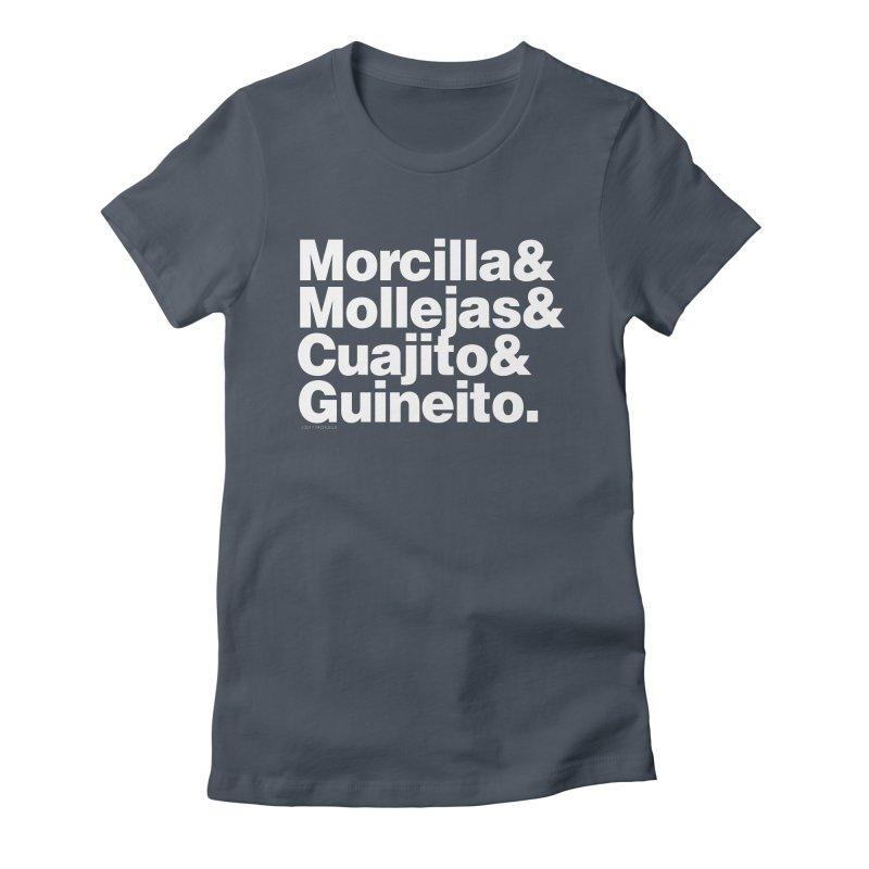 Cuchifrito Women's Fitted T-Shirt by Tachuela's Shop