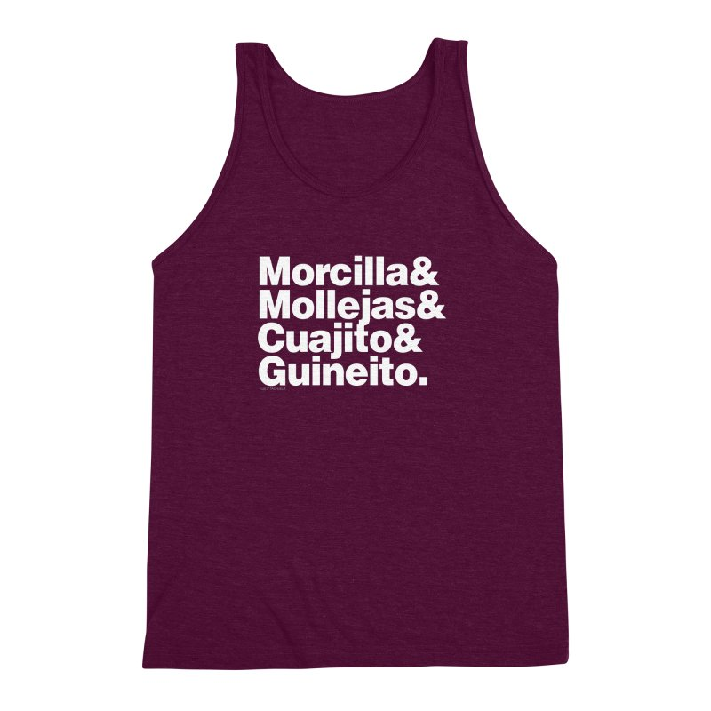 Cuchifrito Men's Triblend Tank by Tachuela's Shop