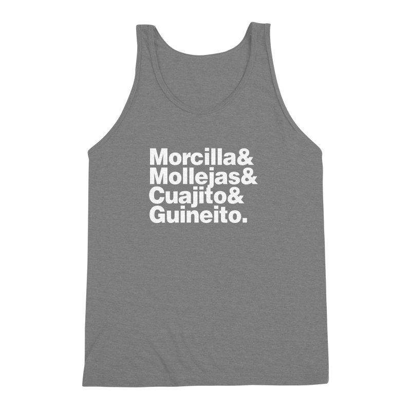 Cuchifrito Men's Triblend Tank by Tachuela's Shop