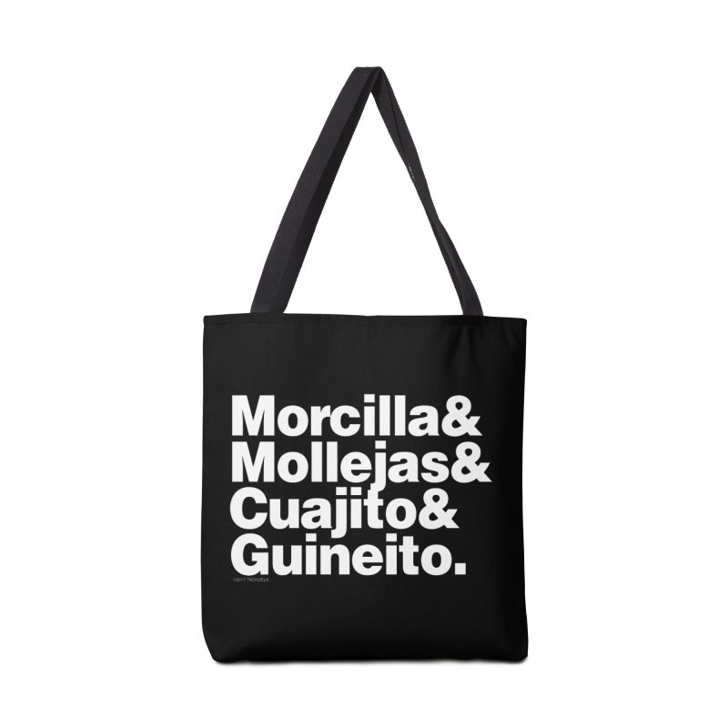 Cuchifrito Accessories Bag by Tachuela's Shop