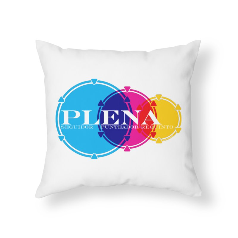 Plena Home Throw Pillow by Tachuela's Shop