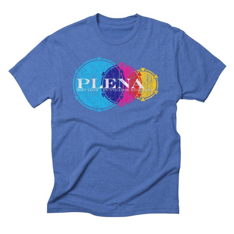 Plena Men's Triblend T-Shirt by Tachuela's Shop