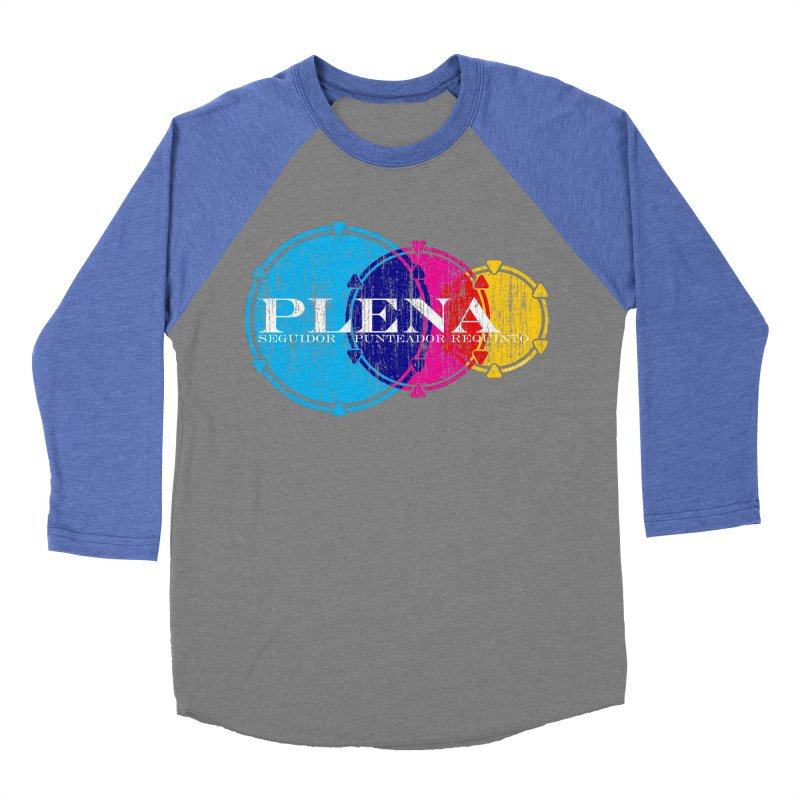 Plena Women's Baseball Triblend T-Shirt by Tachuela's Shop