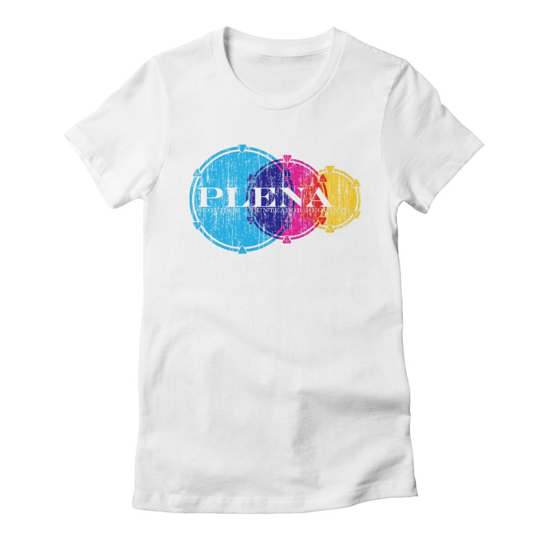 Plena Women's Fitted T-Shirt by Tachuela's Shop