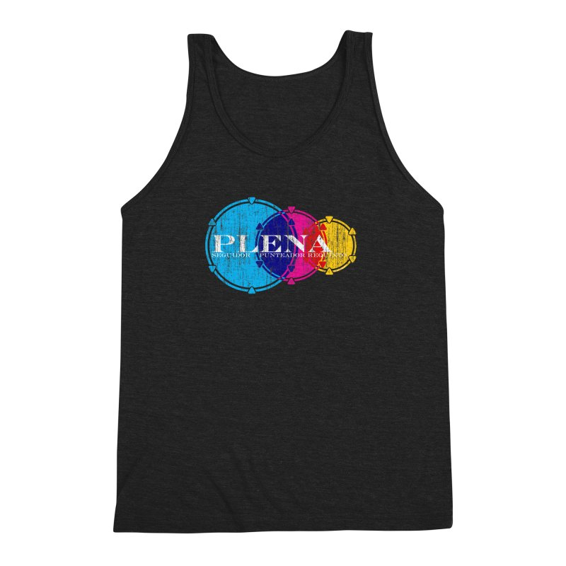 Plena Men's Triblend Tank by Tachuela's Shop