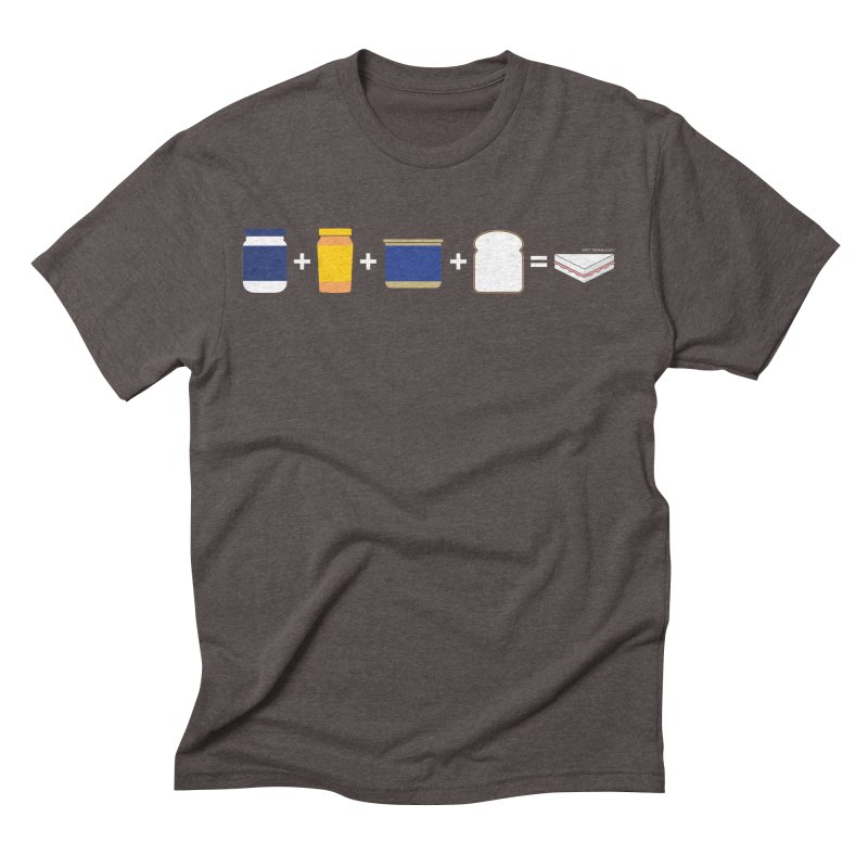Sandwichitos Men's Triblend T-Shirt by Tachuela's Shop