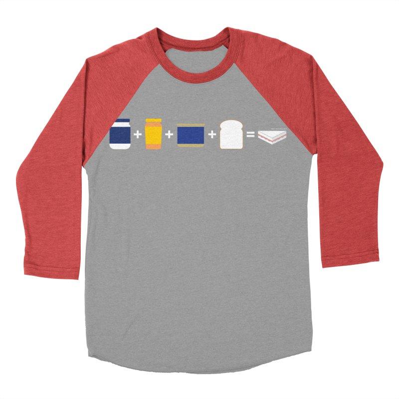 Sandwichitos Women's Baseball Triblend T-Shirt by Tachuela's Shop