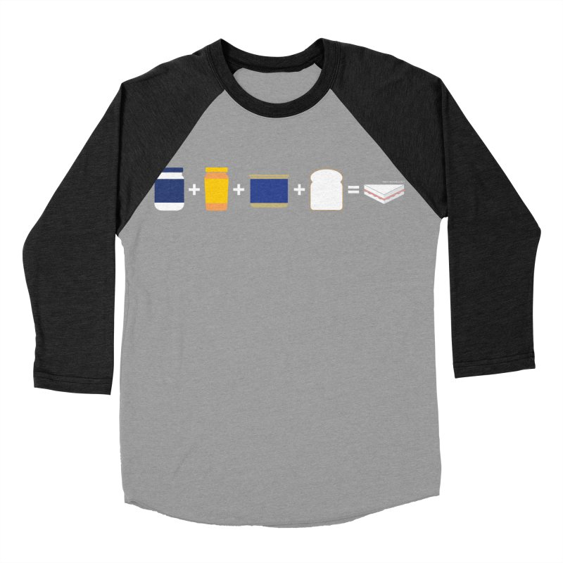 Sandwichitos Men's Baseball Triblend T-Shirt by Tachuela's Shop