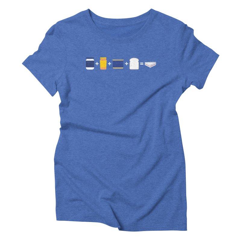Sandwichitos Women's Triblend T-shirt by Tachuela's Shop