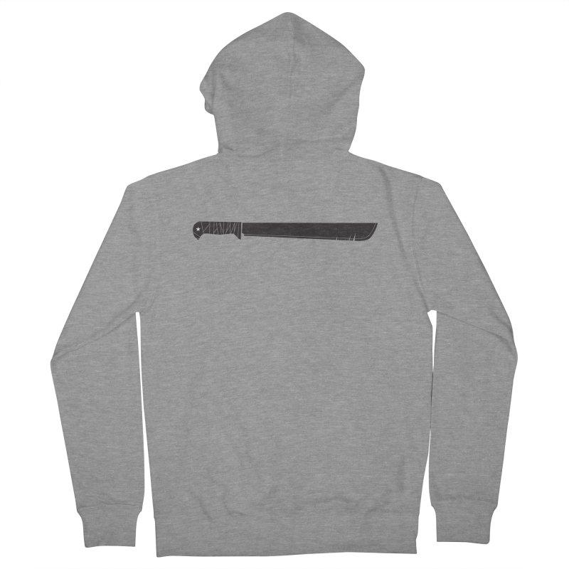 Machete Men's Zip-Up Hoody by Tachuela's Shop