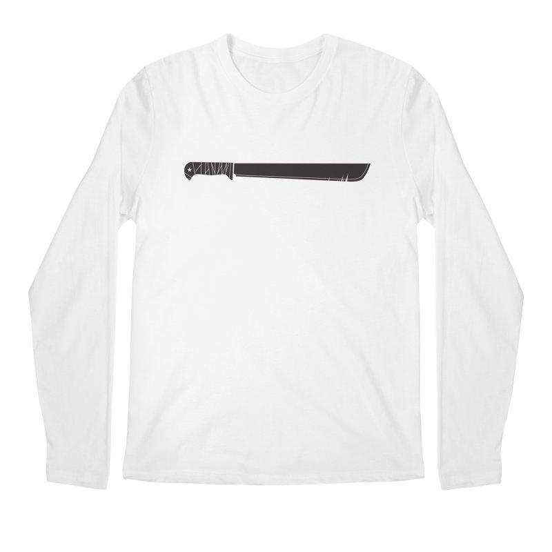 Machete Men's Longsleeve T-Shirt by Tachuela's Shop