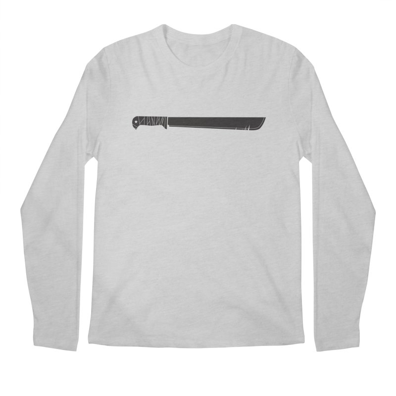 Machete Men's Longsleeve T-Shirt by Tachuela's Shop