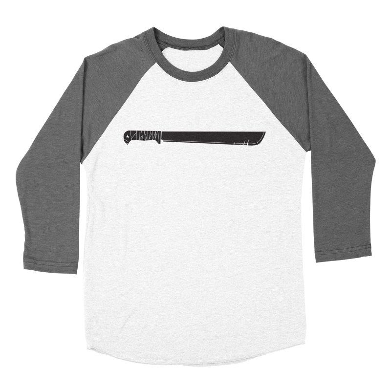 Machete Men's Baseball Triblend T-Shirt by Tachuela's Shop