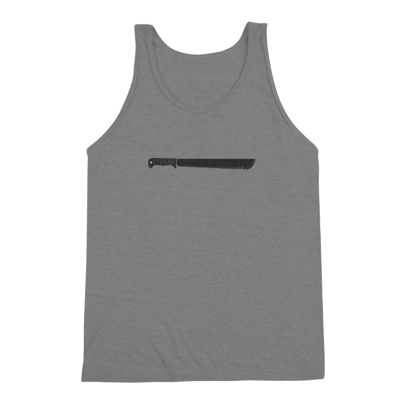 Machete Men's Triblend Tank by Tachuela's Shop