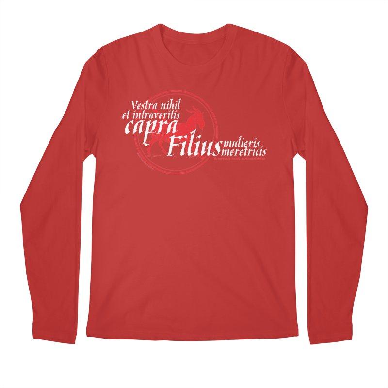 Tu no mete cabra Men's Longsleeve T-Shirt by Tachuela's Shop