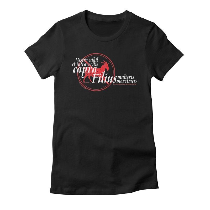 Tu no mete cabra Women's Fitted T-Shirt by Tachuela's Shop