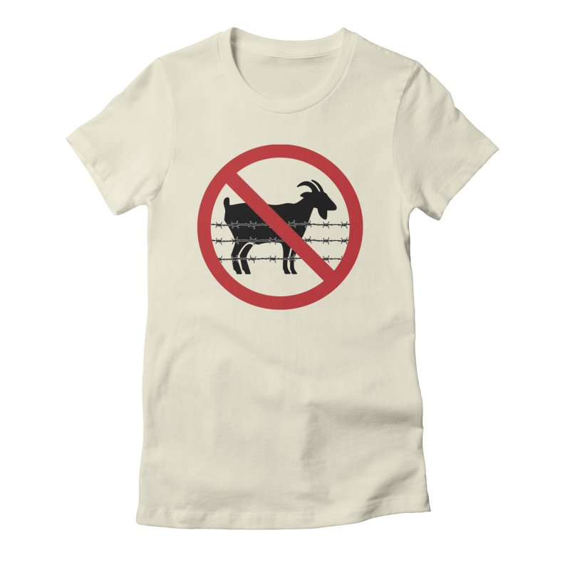 Cabras Women's Fitted T-Shirt by Tachuela's Shop