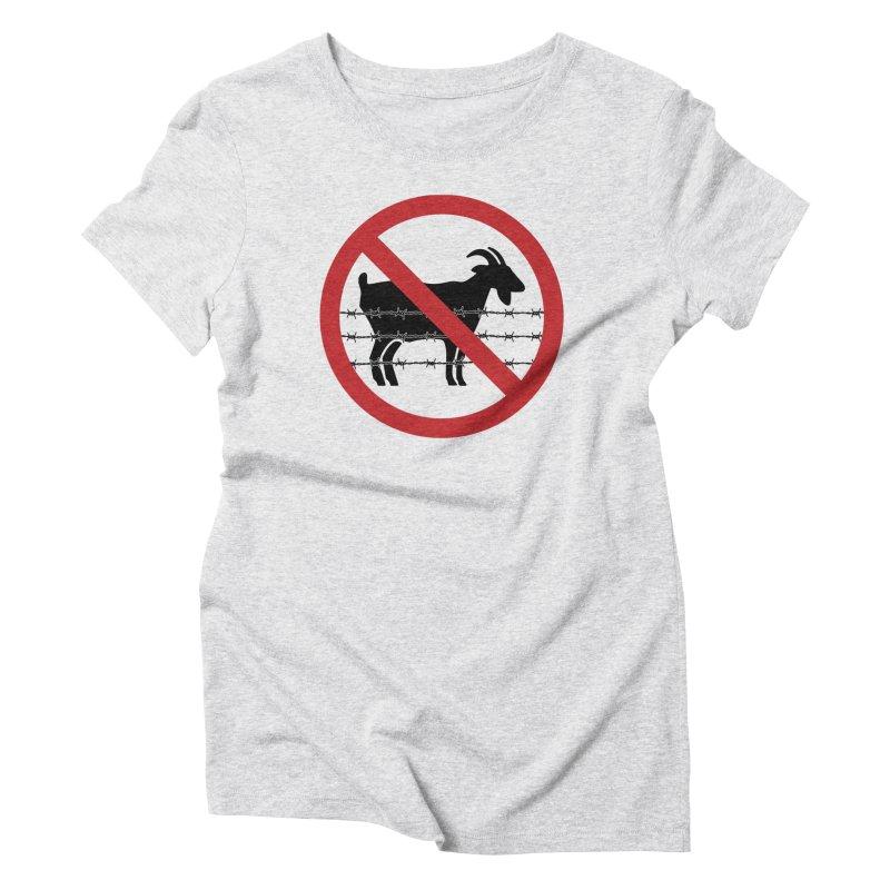 Cabras Women's Triblend T-Shirt by Tachuela's Shop