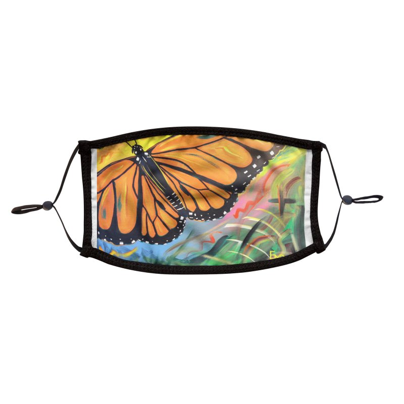 Monarch Migration Accessories Face Mask by taeamade's Artist Shop