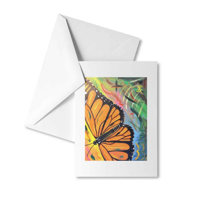 Monarch Migration Accessories Greeting Card by taeamade's Artist Shop